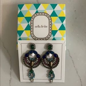 STELLA & DOT PRISMA CHANDELIER EARRINGS
